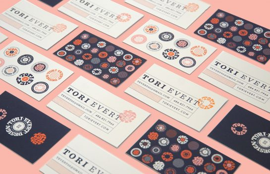 Tori Evert business card