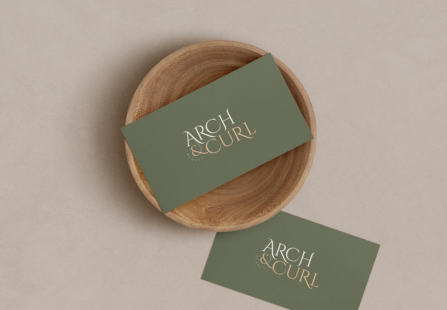 Arch & Curl businesscard