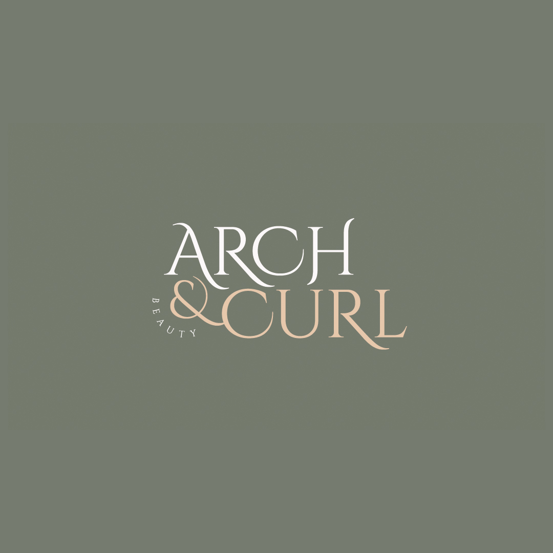 Arch & Curl Beauty logo