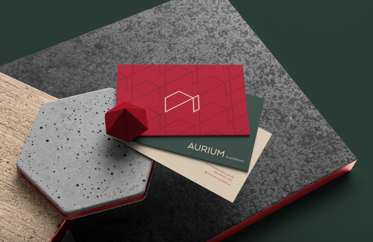 Aurium business card