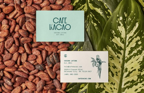 Cafe Kacao business card