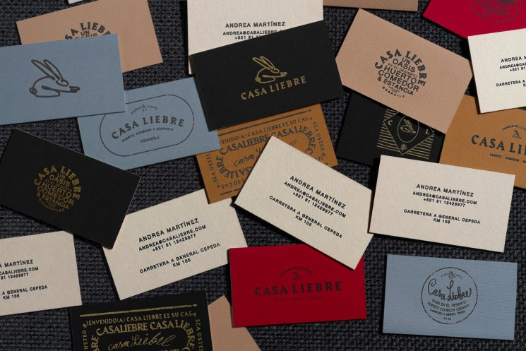 Casa Liebre business cards2