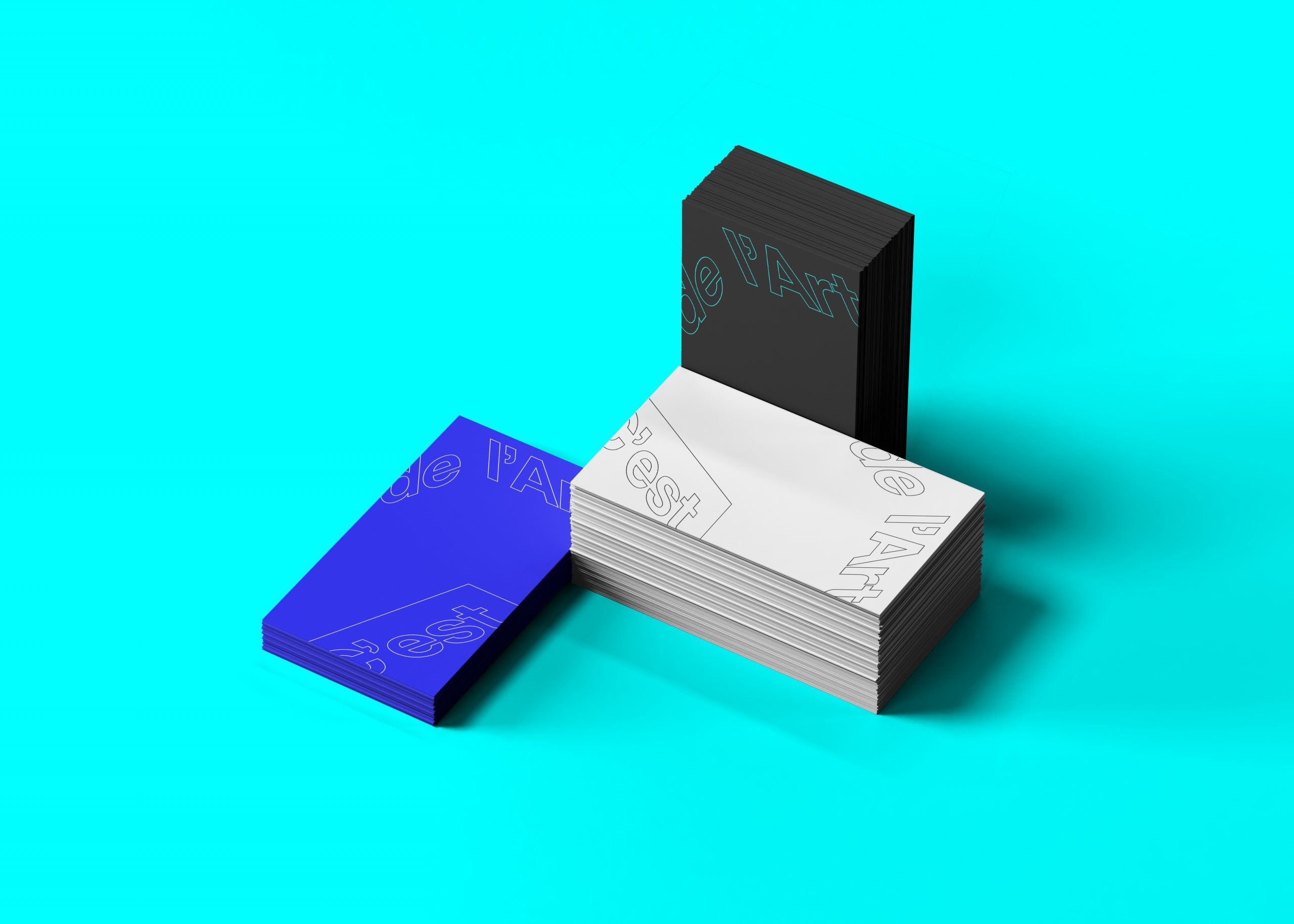 C'est de l'Art business cards