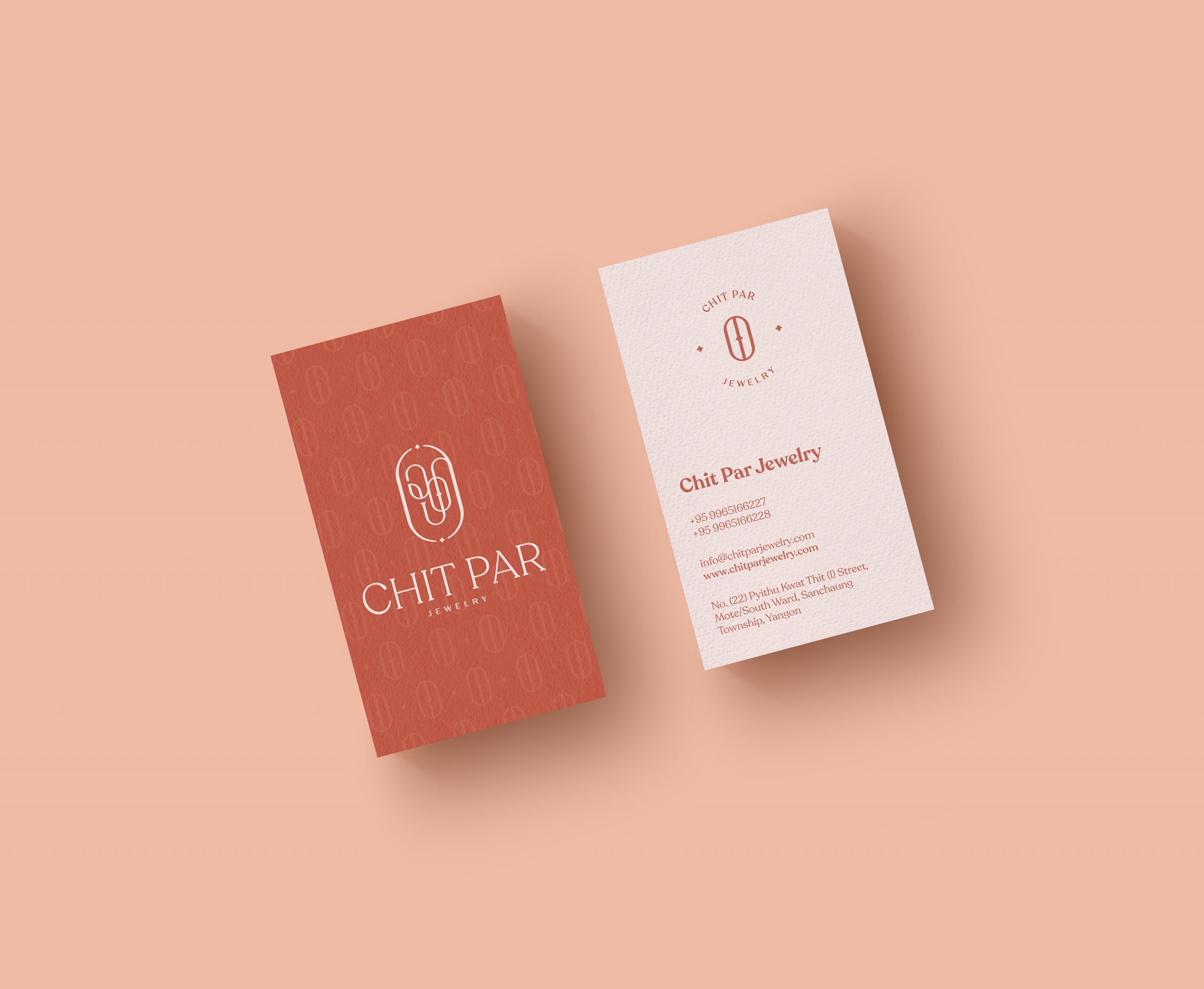 Chit Par Jewelry Business Cards