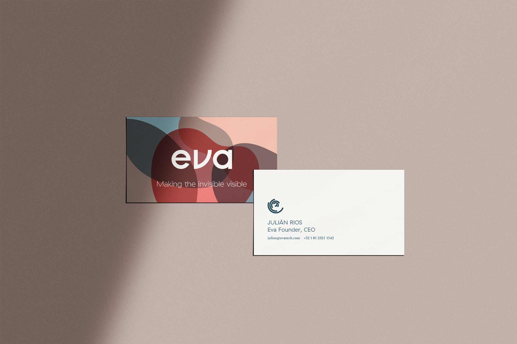 Eva Tech Business Card
