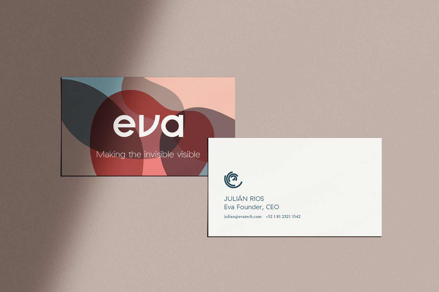 Eva business cards