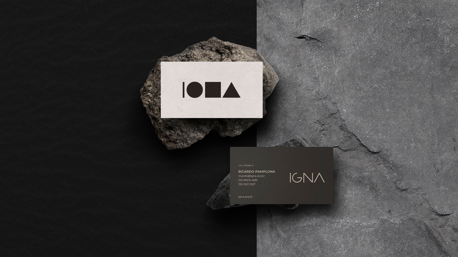 IGNA business cards