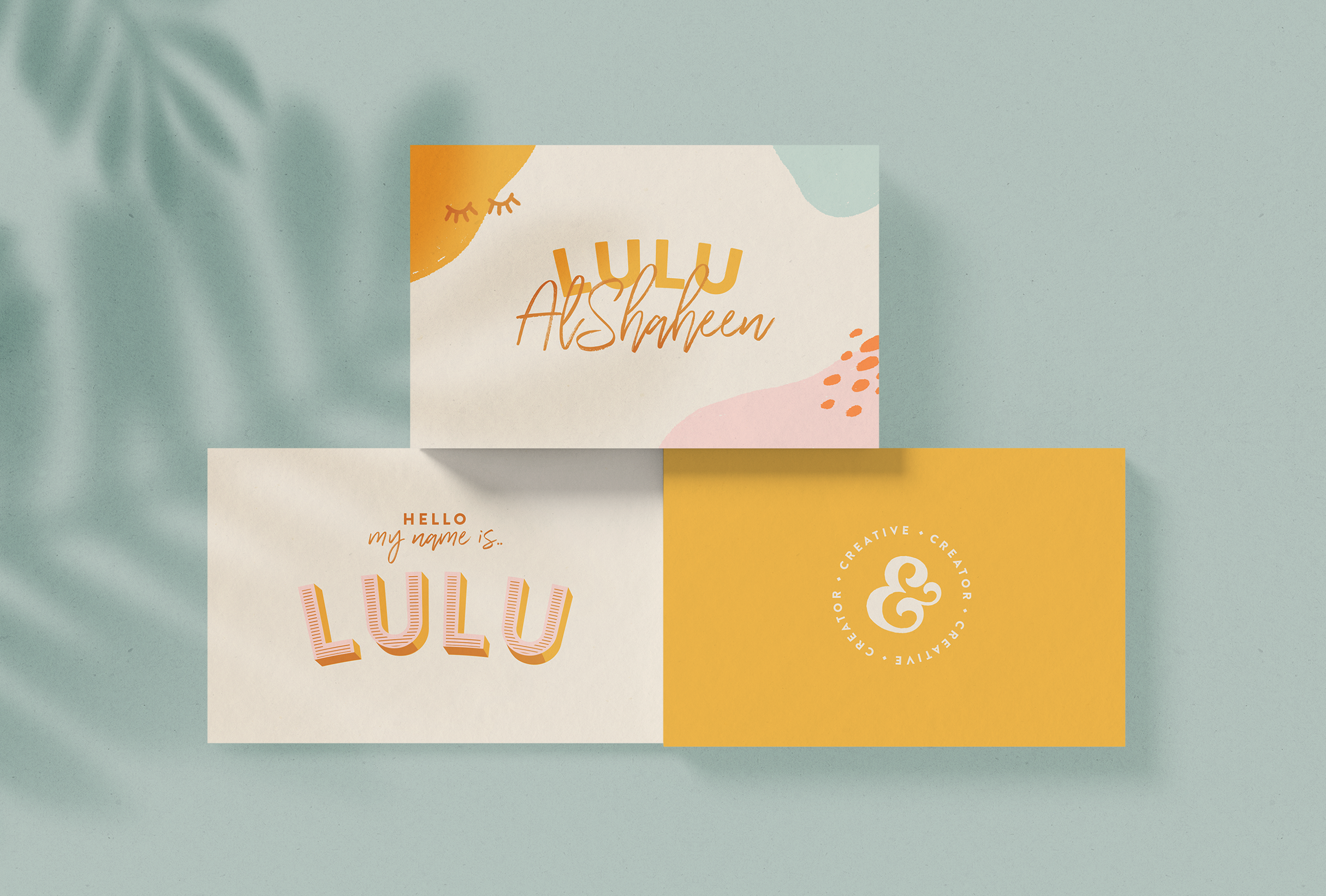 Lulu AlShaheen business card