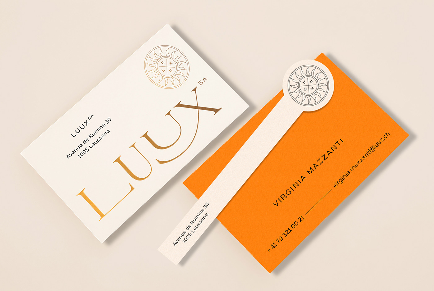LUUX Business Card