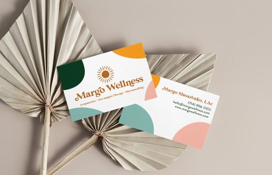 Margo Wellness business cards
