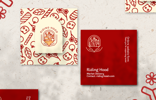 Riding Hood business card