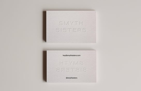 Smyth Sisters business card