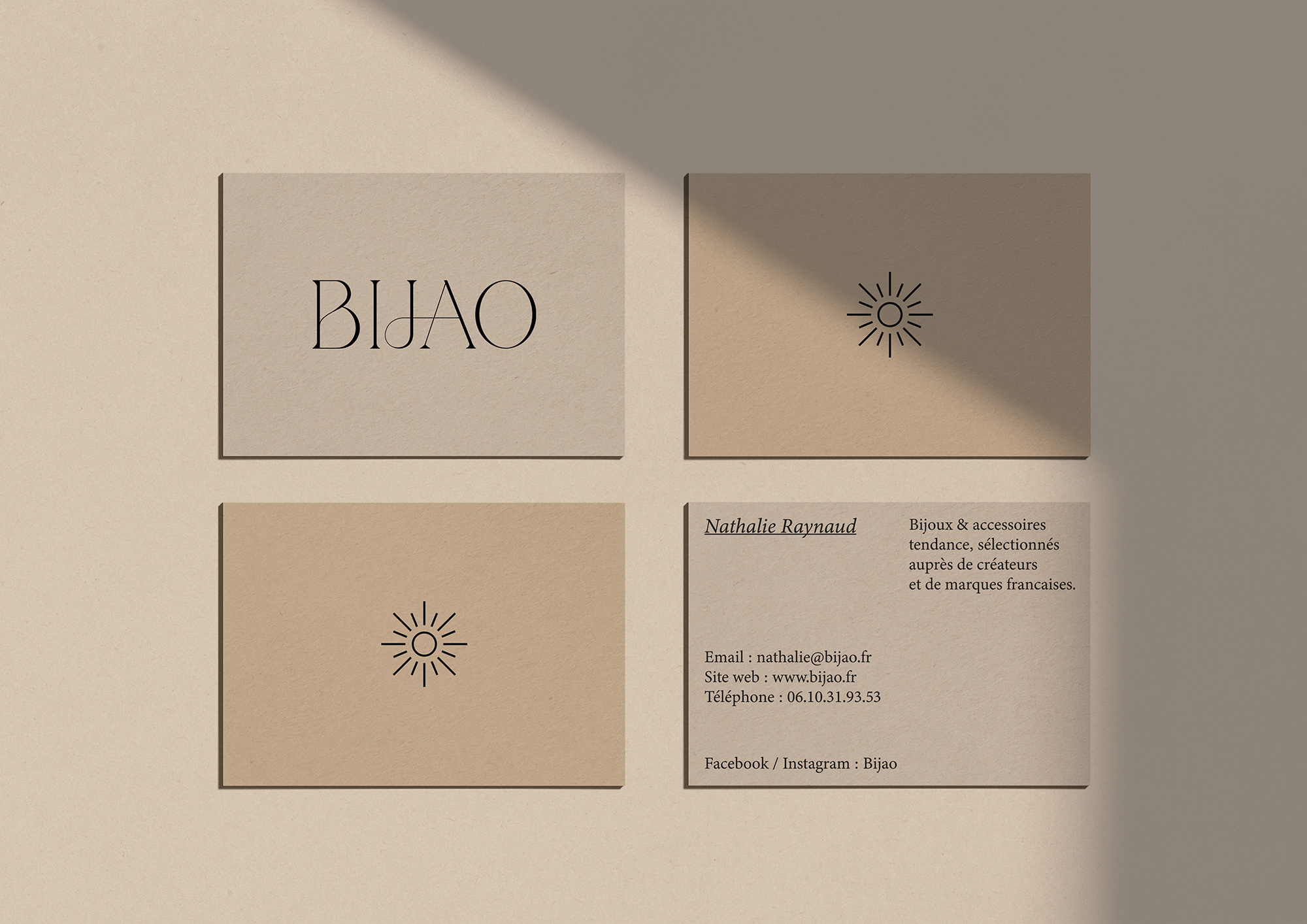 Bijao business card