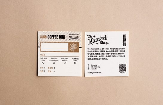 Coffee DNA business card