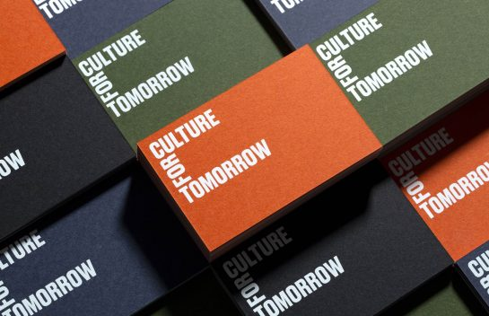Culture For Tomorrow_business card