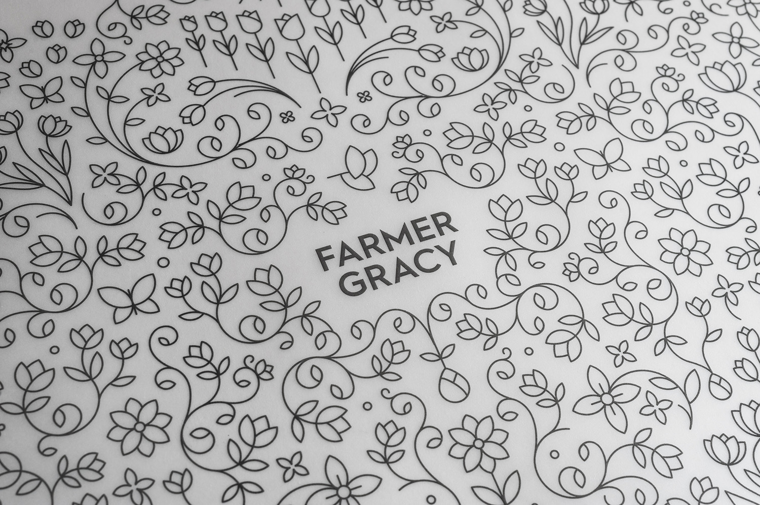 Farmer Gracy pattern design