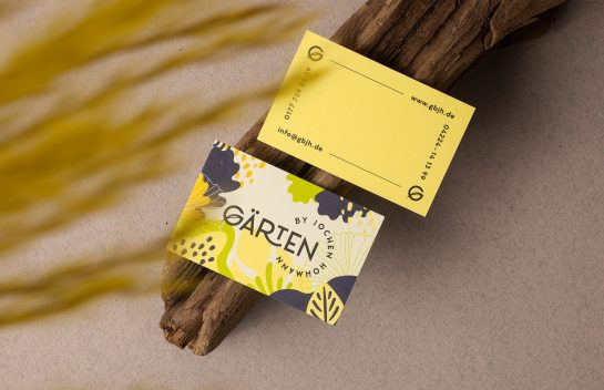 Garten by Jochen Hohmann business card