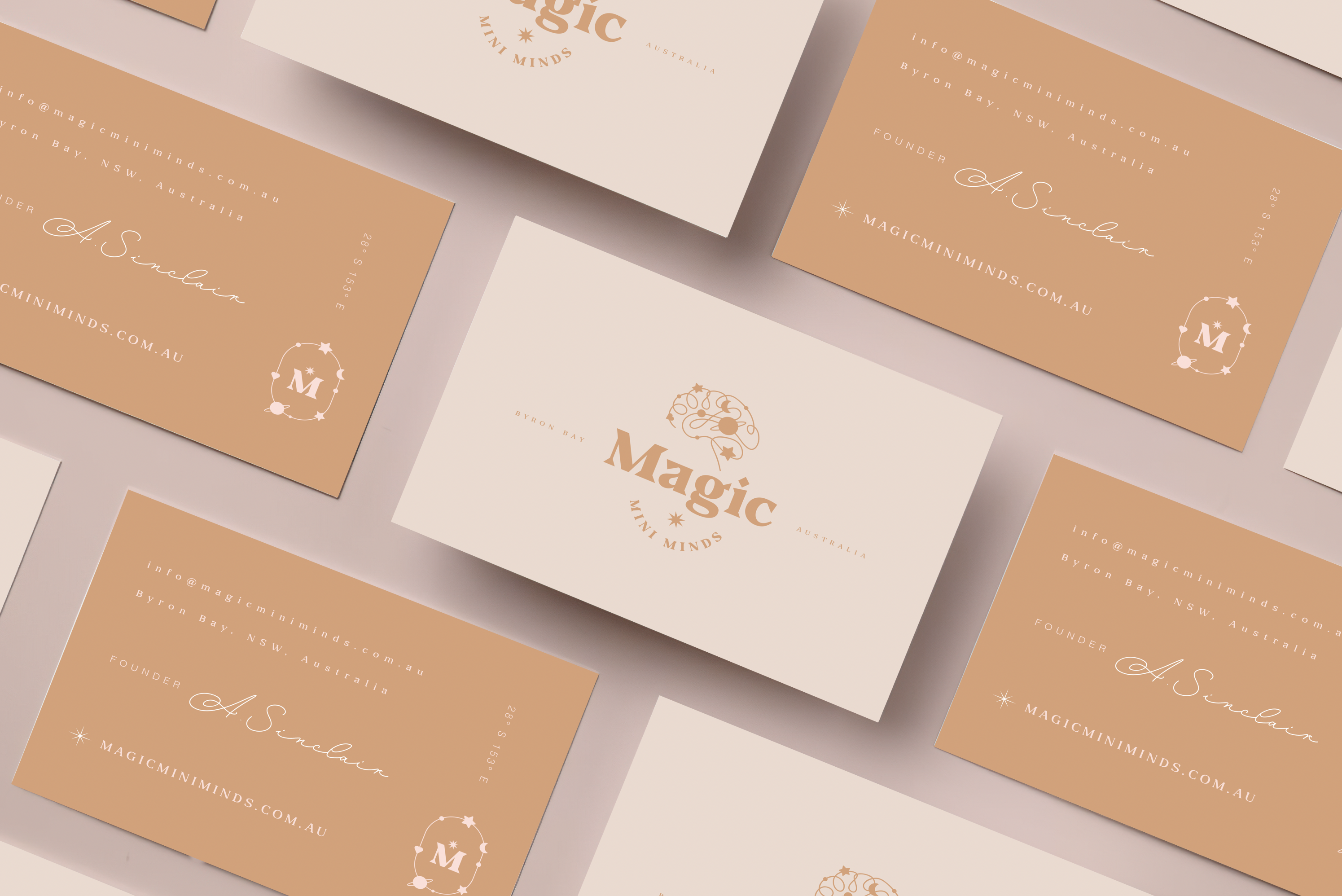 Magic Mini Minds business cards