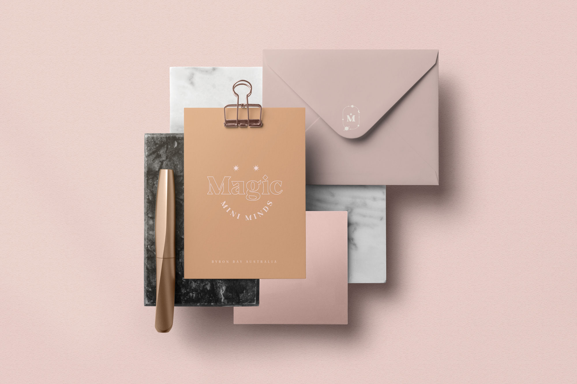 Magic Mini Minds stationery