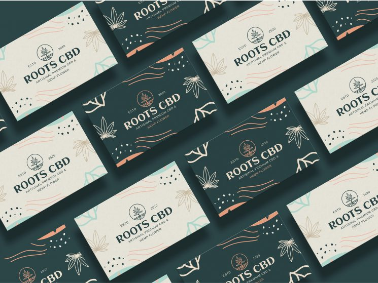 Roots CBD business card