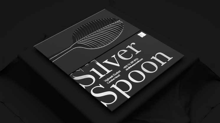 Silver Spoon business card