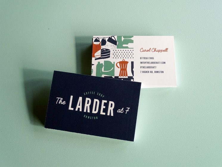 The Larder at 7 Business_Card