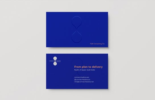Connect the Dots business card