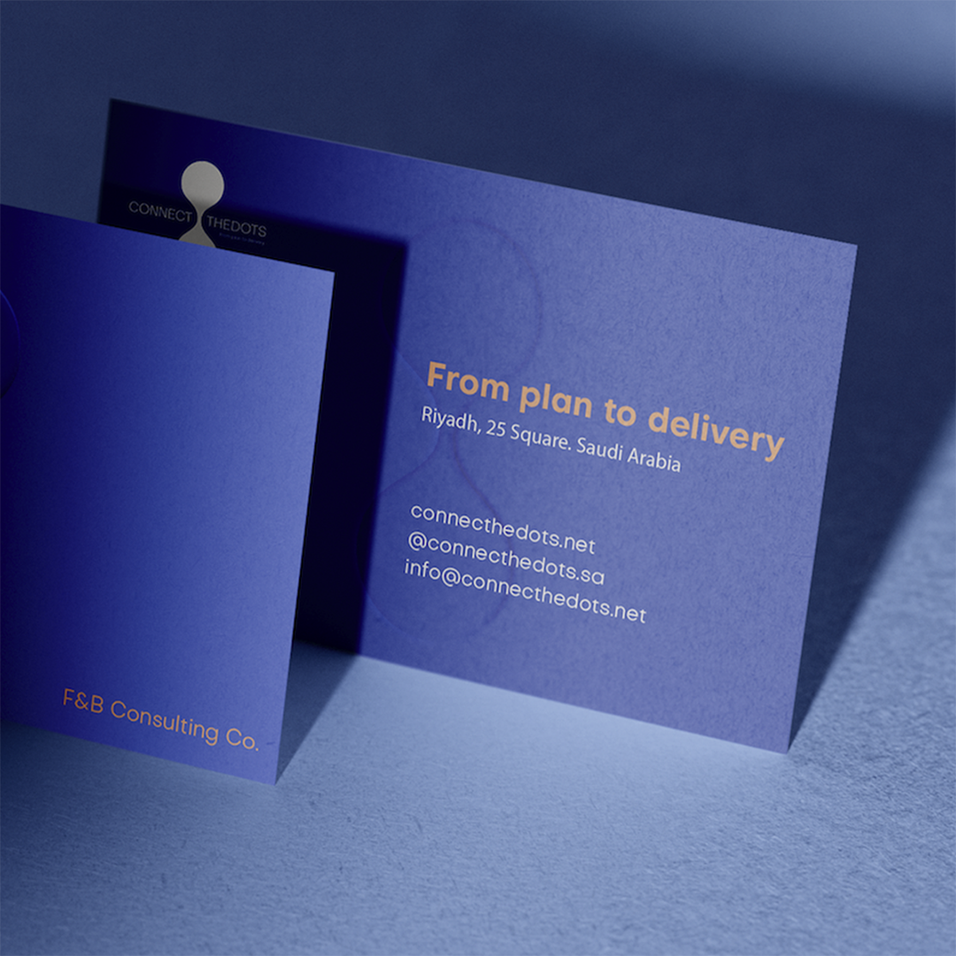 Connect the Dots businesscards