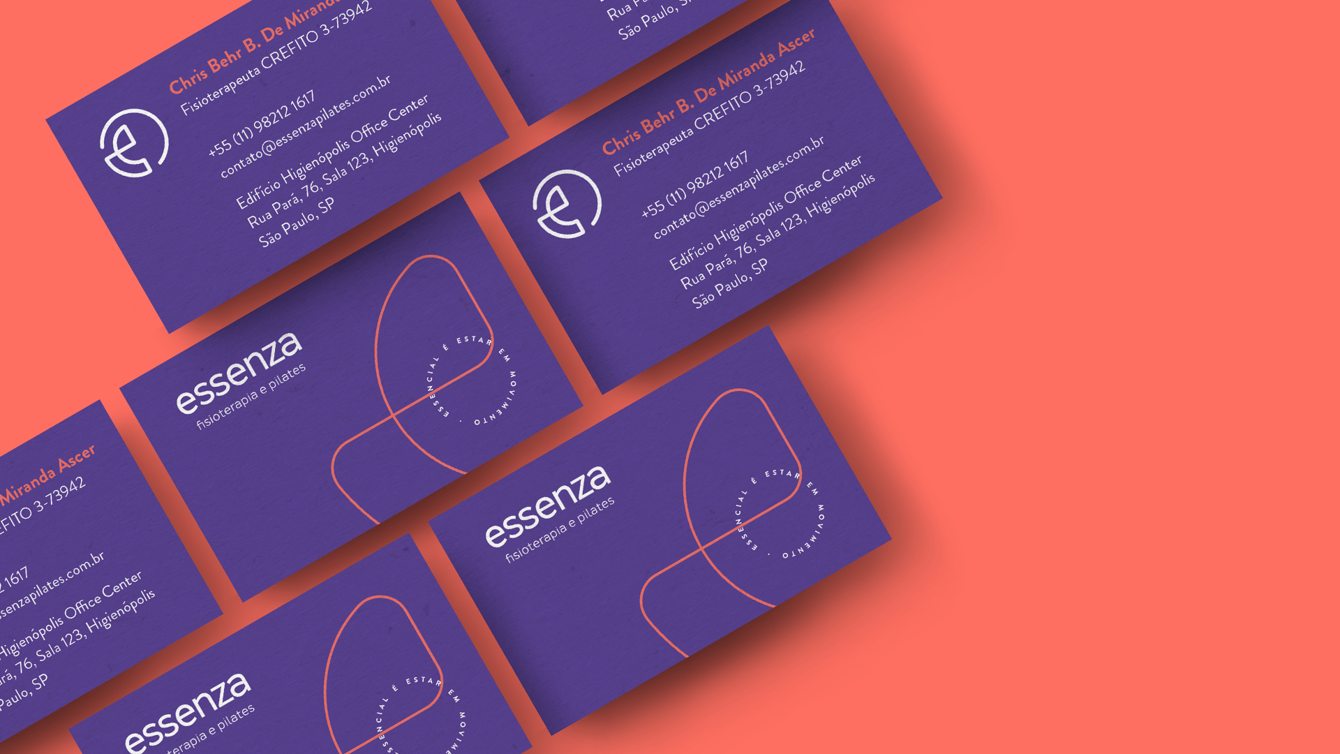 Essenza business cards