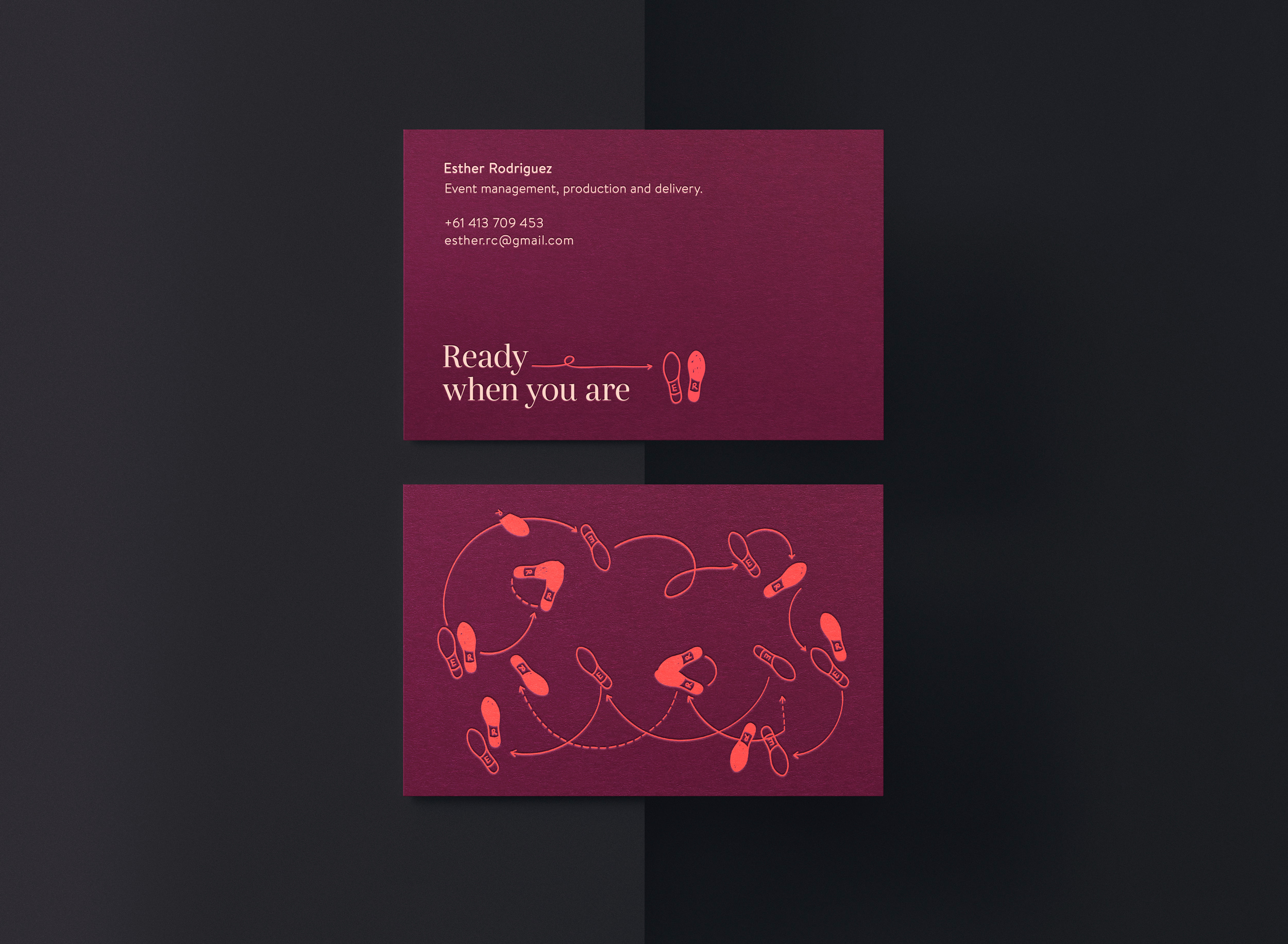 Esther Rodriguez Business Card