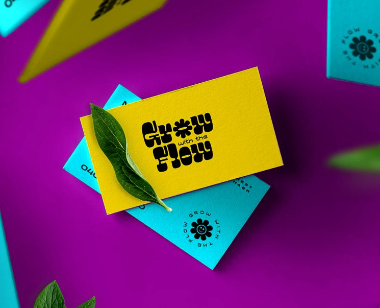Grow with the Flow business card