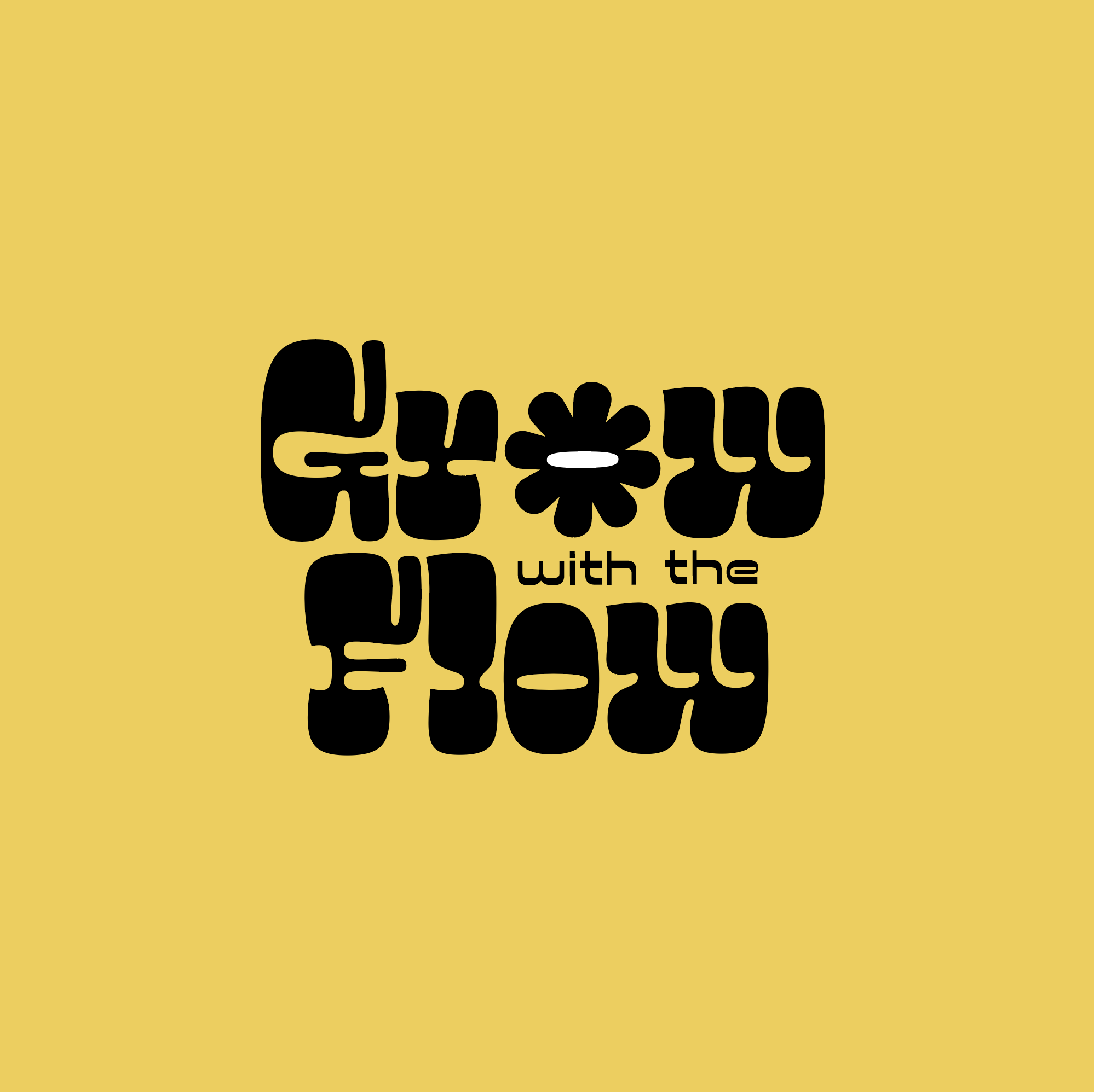 Grow with the Flow logotype