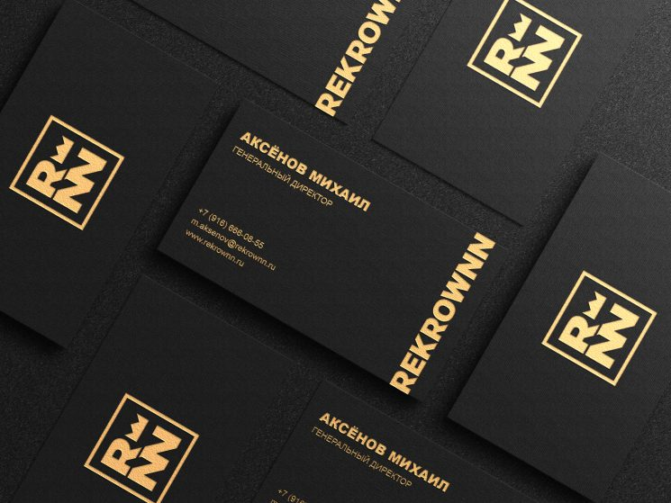 Rekrownn business cards