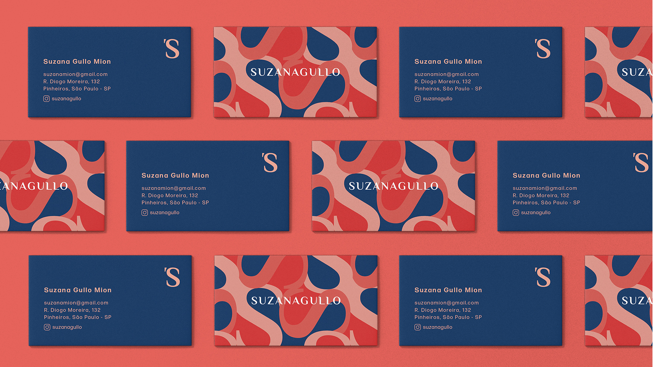 Suzana Gullo business cards