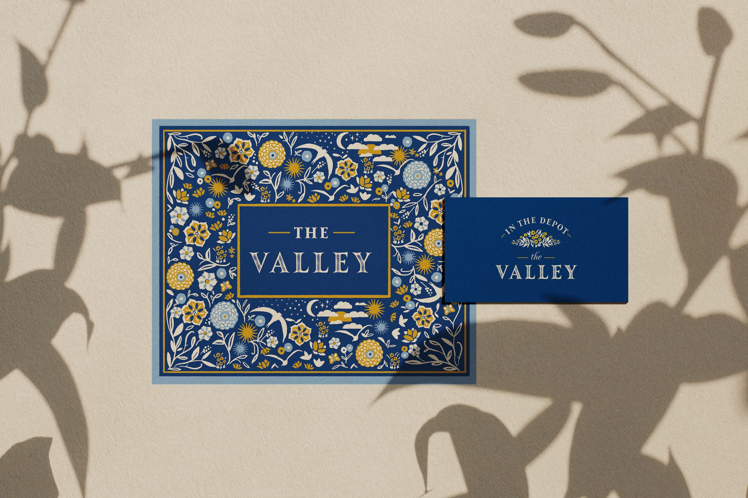 The Valley branding