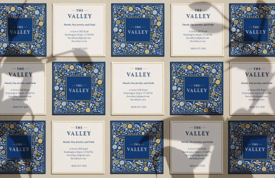The Valley business cards