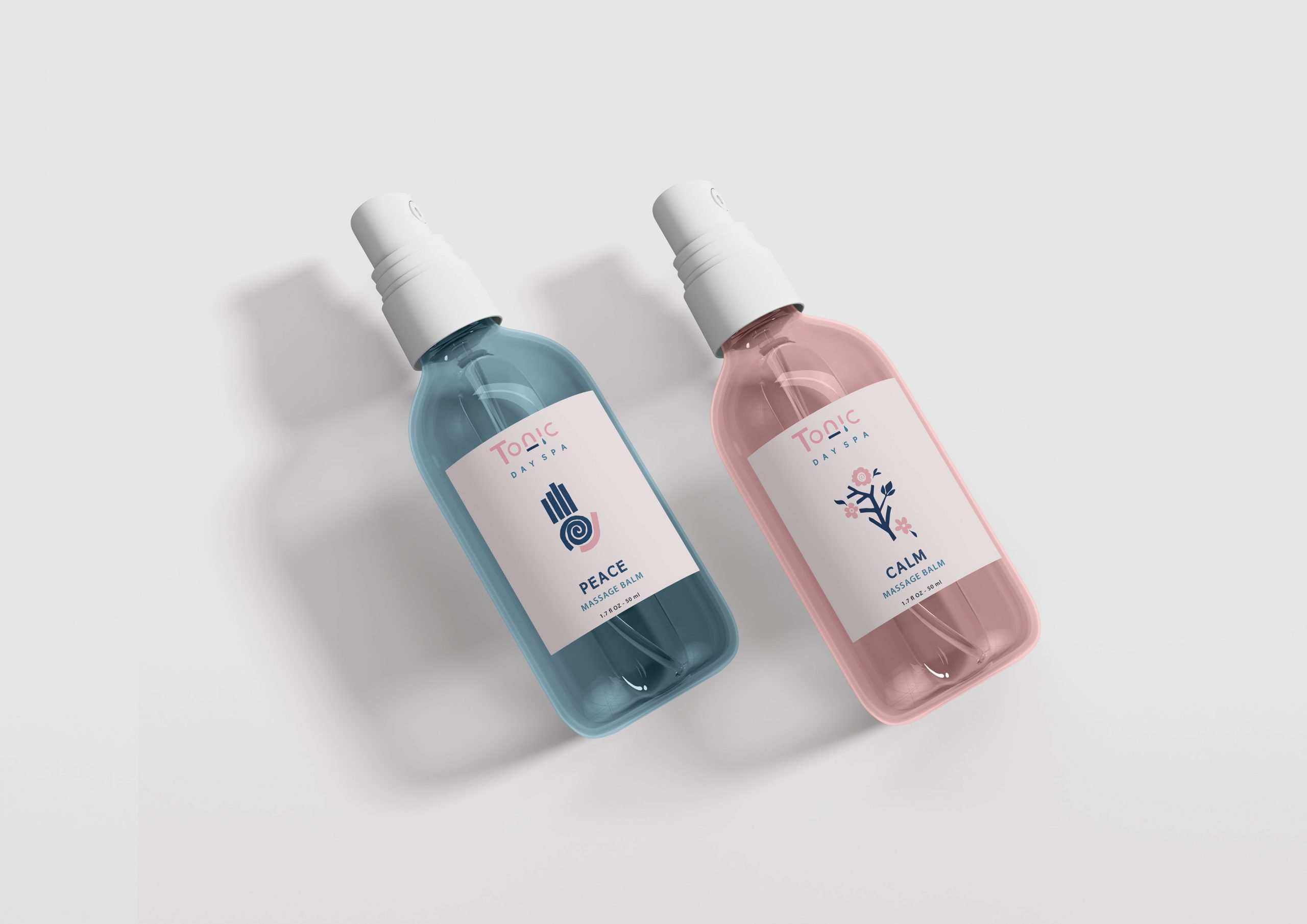 Tonic Day Spa packaging