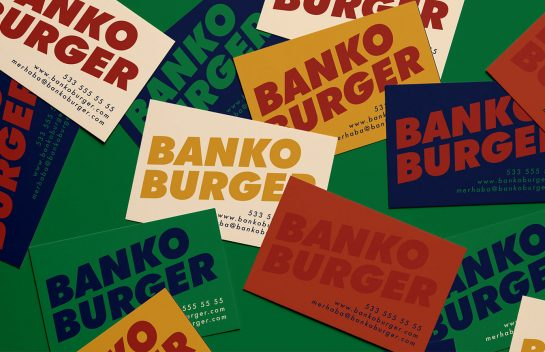 Bankor Burger business cards