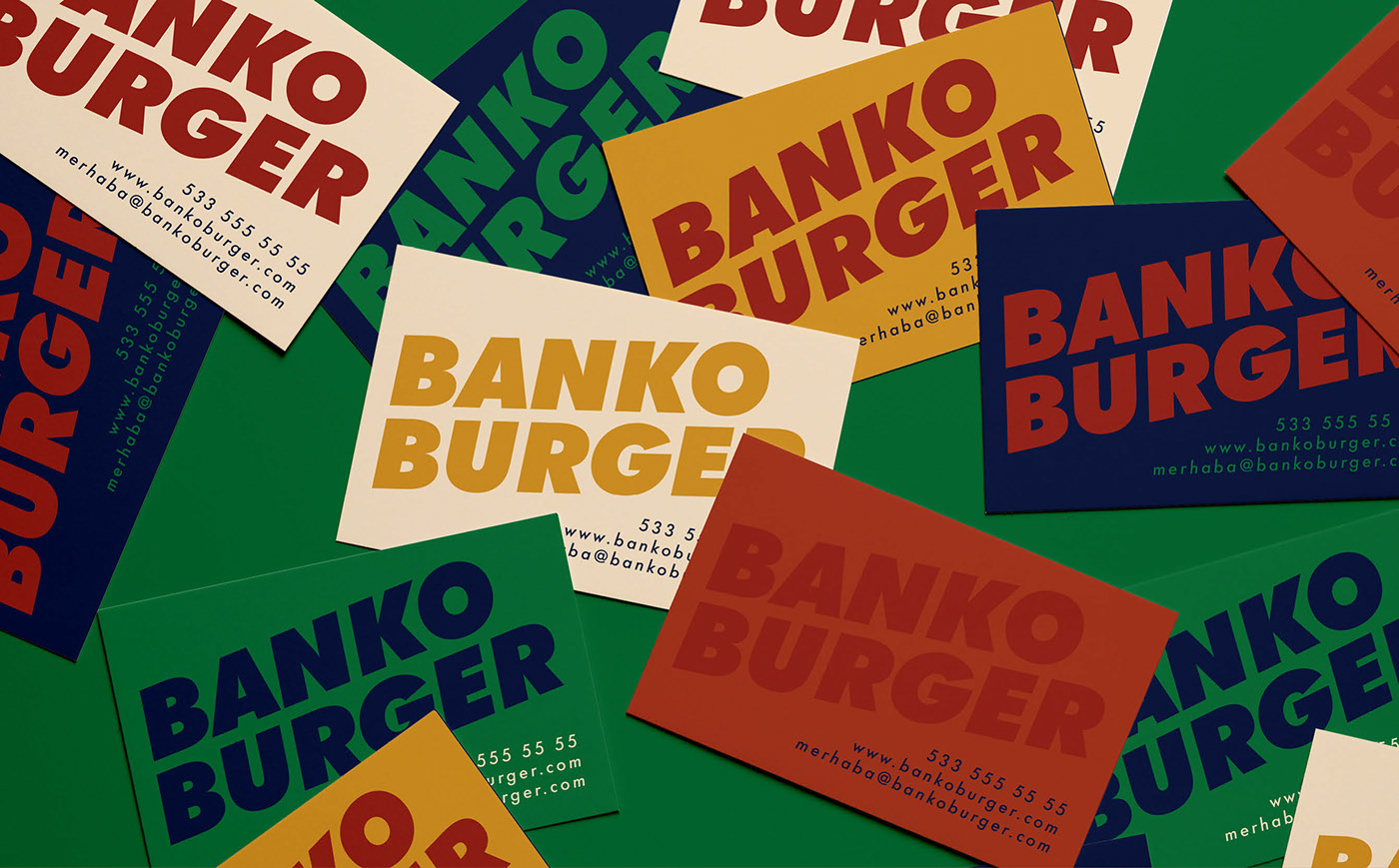 Banko Burger Business Card