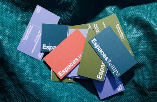 EspacesTemps business cards