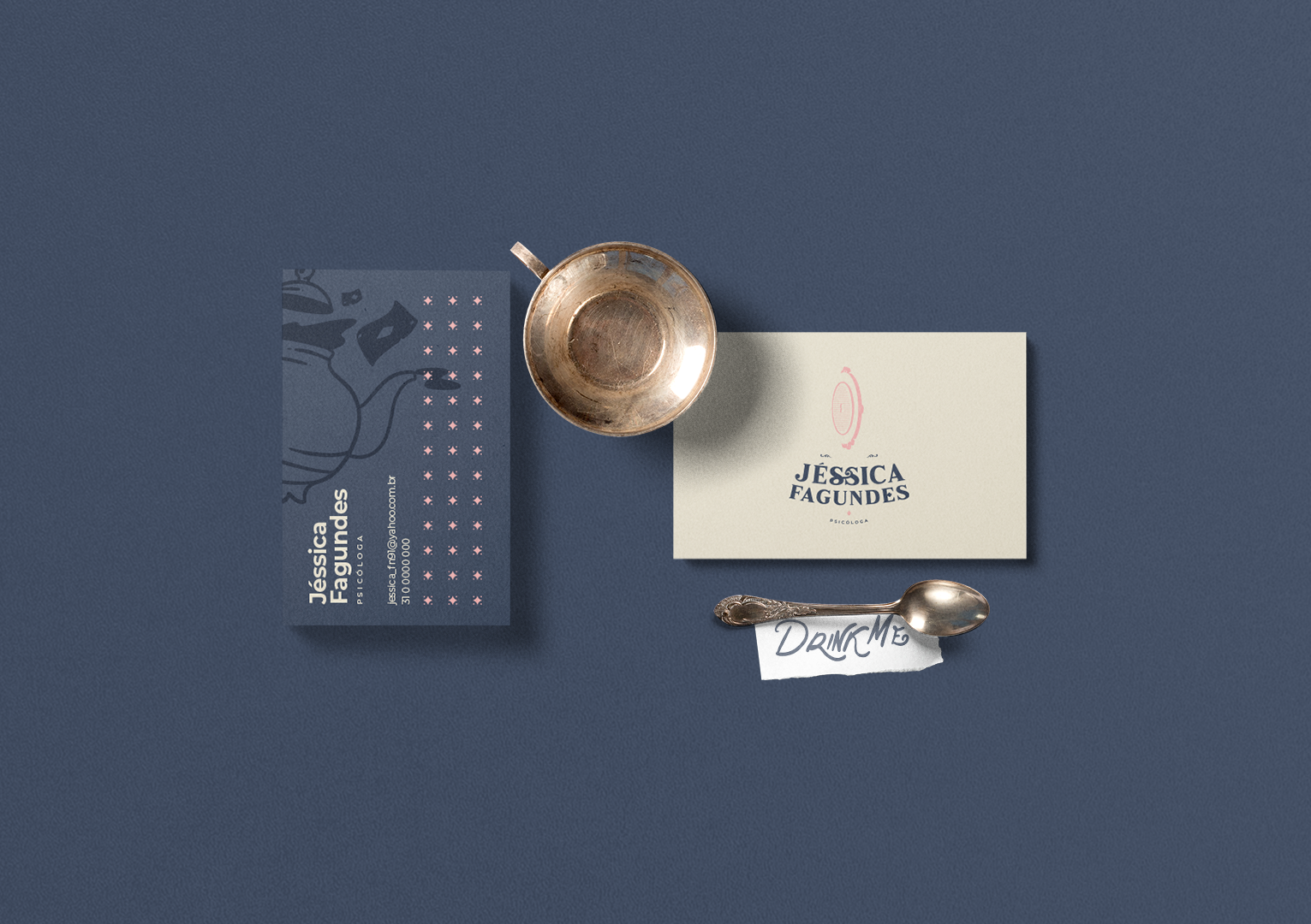 Jéssica Fagundes business card