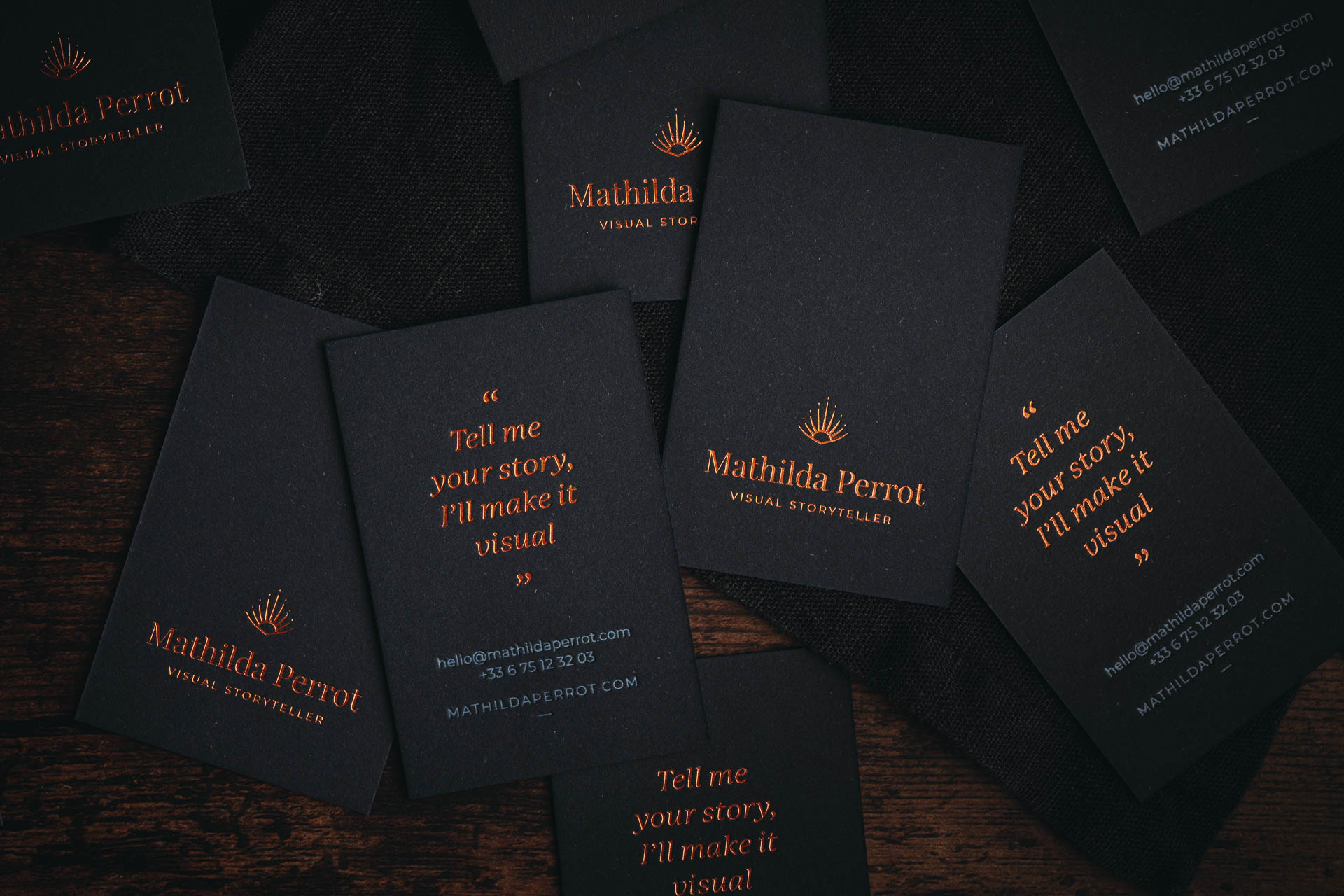 Mathilda Perrot_business cards