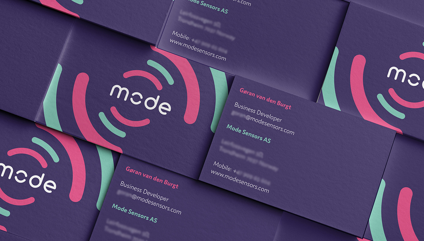 Mode Sensors Business Cards