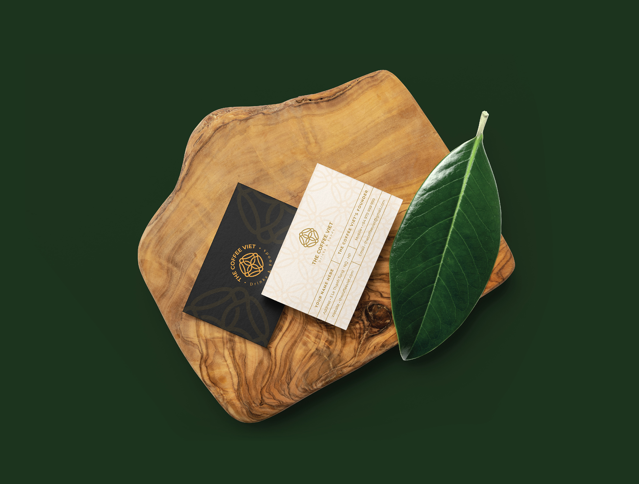 The Coffee Viet business card