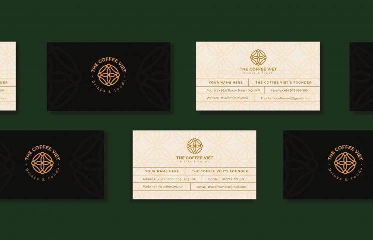 The Coffee Viet business cards
