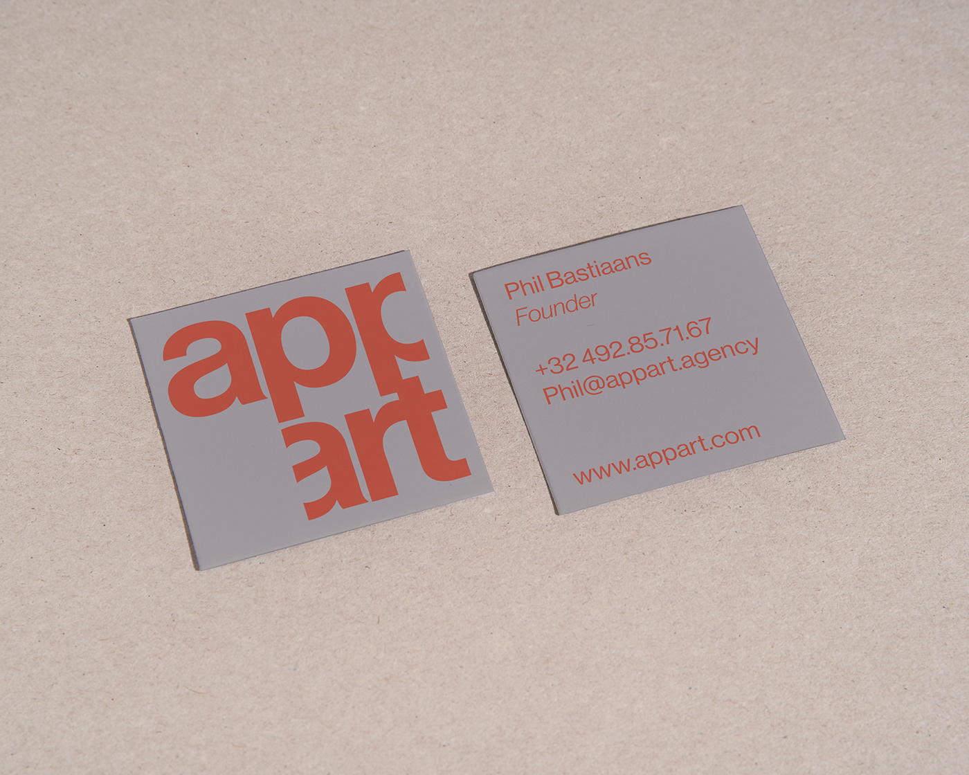 Appart business cards
