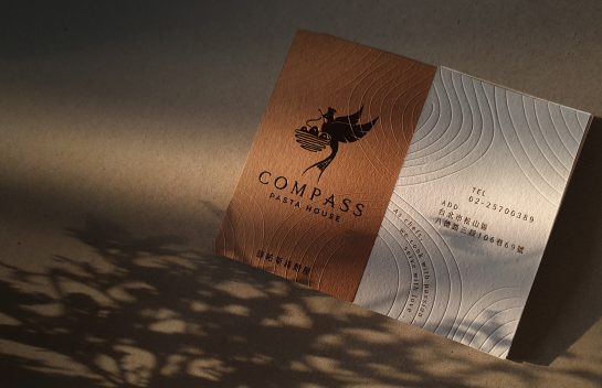 Compass Pasta business card