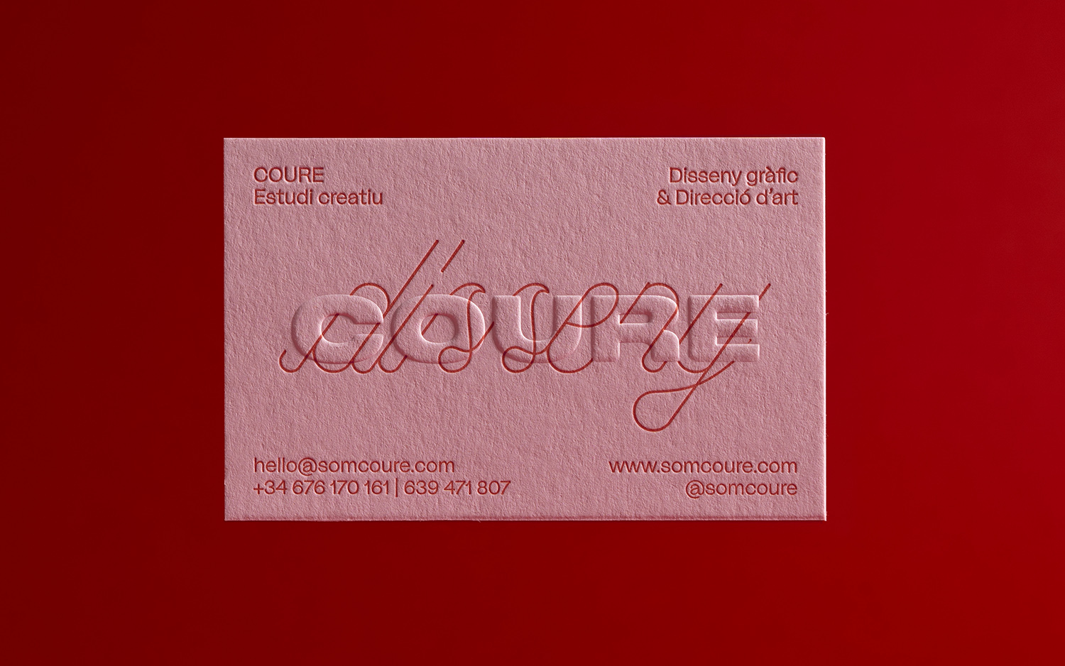 Coure business card