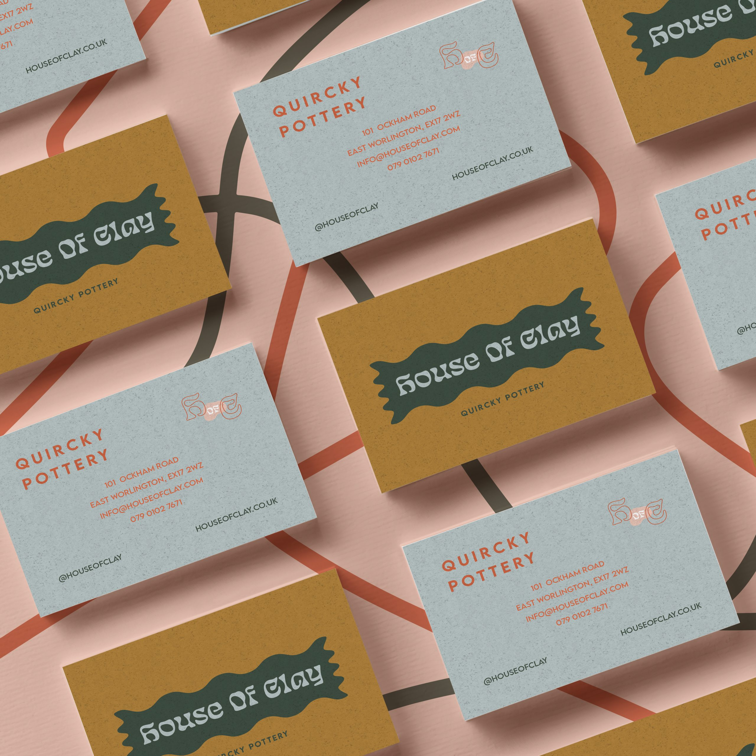 House of Clay business_card