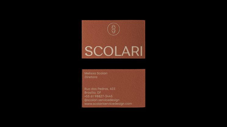 Melissa Scolari business card